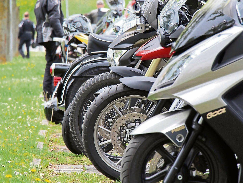 Gottesdienst für Motorradfahrer