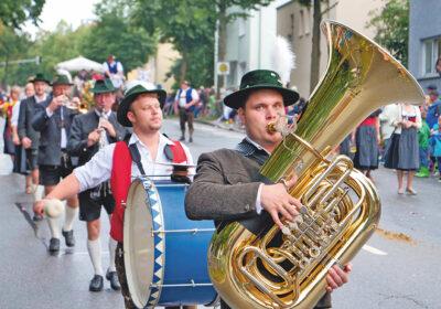 Musikanten beim Festzug