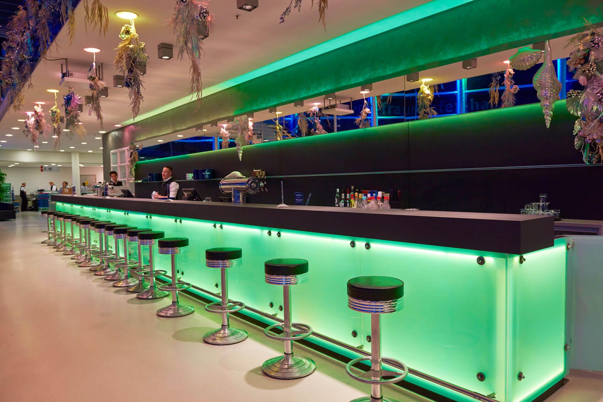 Die Bar der Joseph-von-Fraunhofer-Halle
