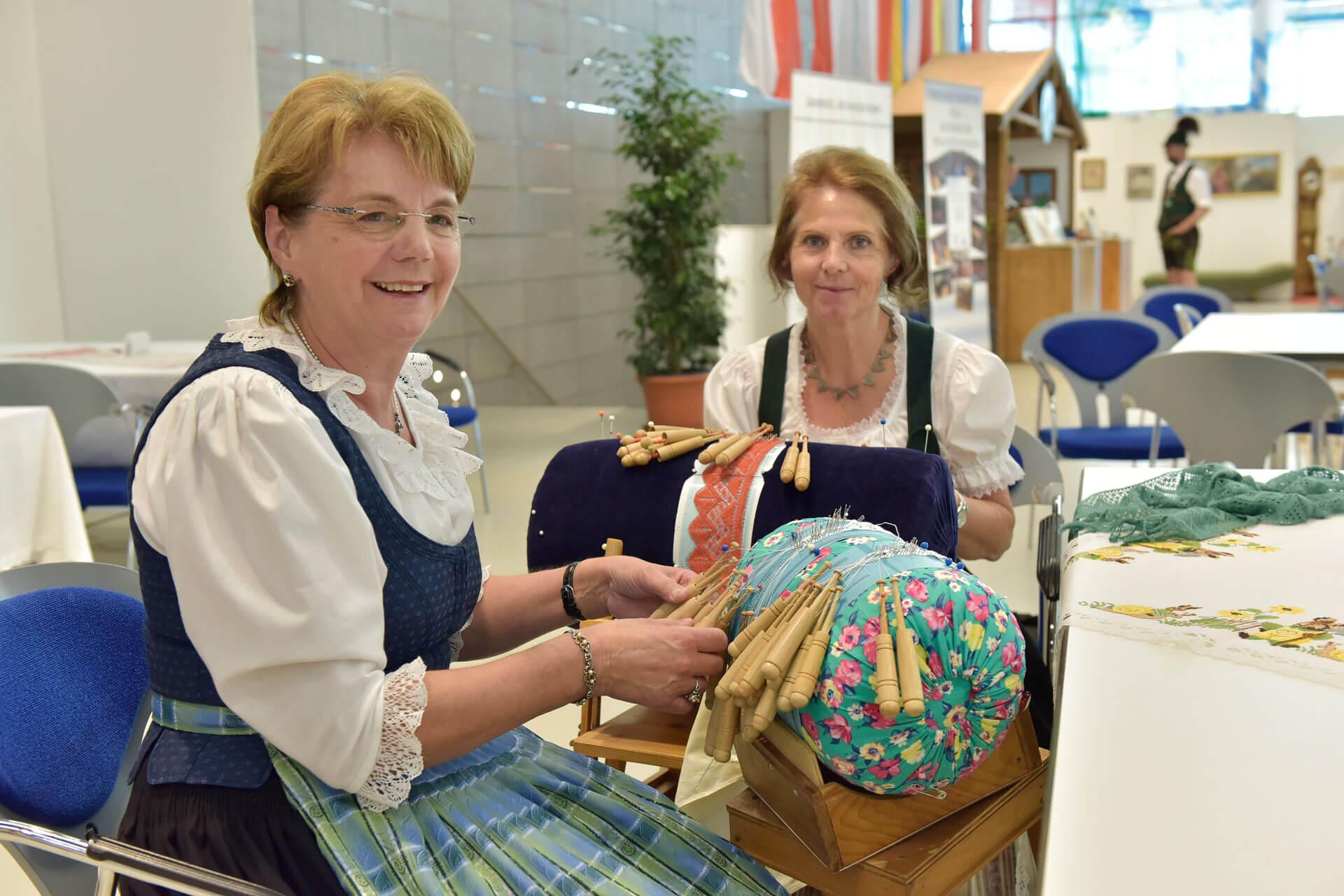 Sonderschau zu Brauchtum, Tracht und Handwerk auf der Ostbayernschau 2019